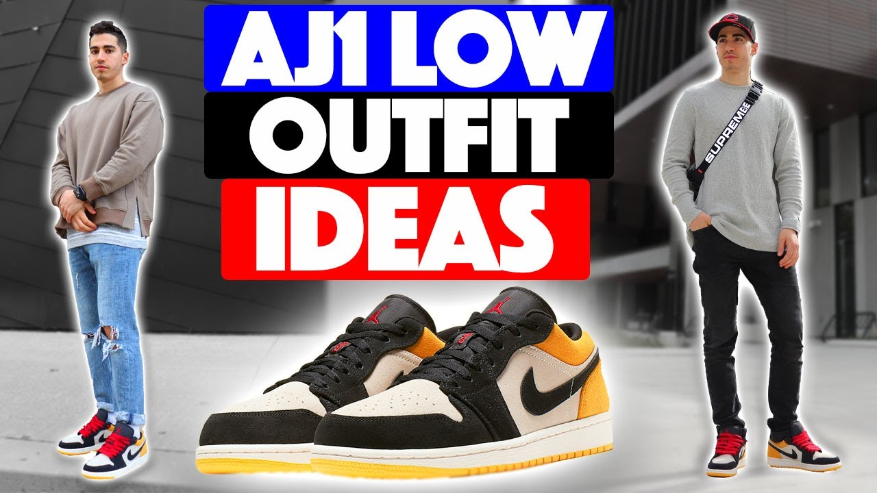 How To Style Air Jordan 1 Low Outfit Ideas Youtube