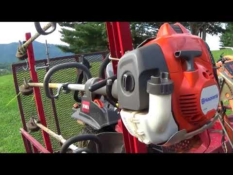 Husqvarna 525LST Review Their Best Trimmer?? - YouTube