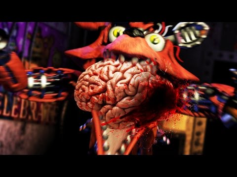 FNAF: Survive The Night - FOXY BITES THE FRONTAL LOBE  - (Five Nights At Freddy