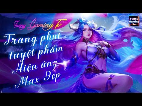 LIÊN QUÂN | Trải nghiệm Skin mới Lauriel Tinh Vân Sứ cùng FUNNY GAMING TV