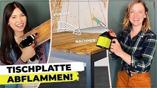 Holztisch selber bauen | DIY Möbelbau #tischdiy | Studio Makeover bei @Pocket Money