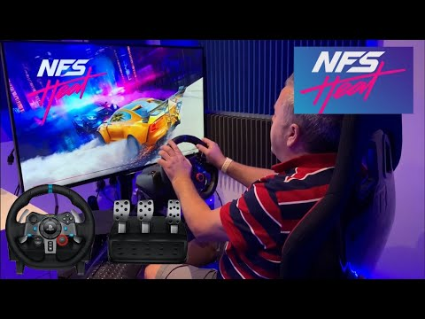Let's Race - NFS Heat - Logitech G29 Racing Wheel & Pedals - Need For Speed Xbox One (How to Link)