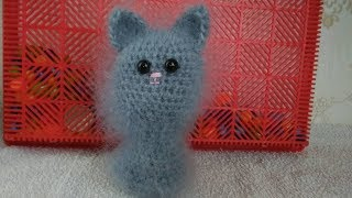 Котенок-милашка вязанный крючком!!! Очень простое вязание крючком!