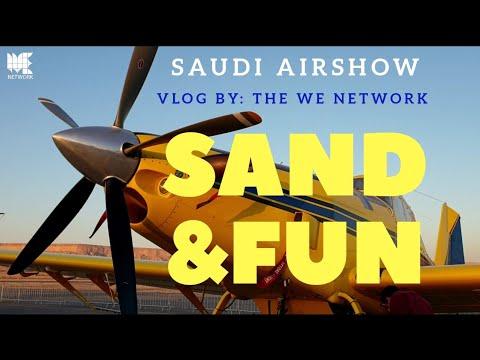 Sand & Fun | General Aviation Forum - Airshow 2020| ملتقى_الطيران_السعودي | #ملتقى_الطيران_العام