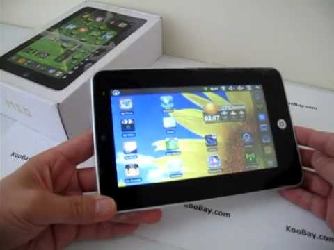 7 Inch Android 2.2 EPad Wi-Fi 3G Flash Facebook YouTube Twitter Tablet PC