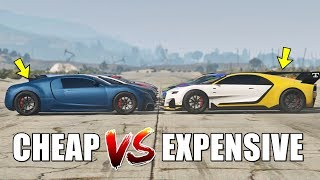GTA 5 ONLINE - CHEAP VS EXPENSIVE (WHICH IS FASTEST?)