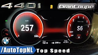 BMW 4 Series Gran Coupe 2018 440i xDrive ACCELERATION & TOP SPEED 0-257km/h by AutoTopNL