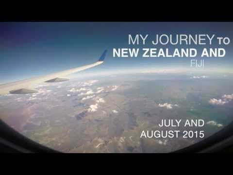 Sarah Clayton's ISV Trip To New Zealand and Fiji