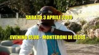 "ELEPHANT MAN ""THE ENERGY GOD"" ...coming soon @ EVENING CLUB - MONTERONI DI LECCE 03/04/2010"