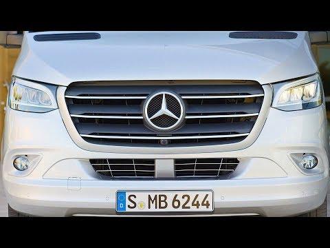 Mercedes Sprinter (2018) The Most High-Tech Van Ever?