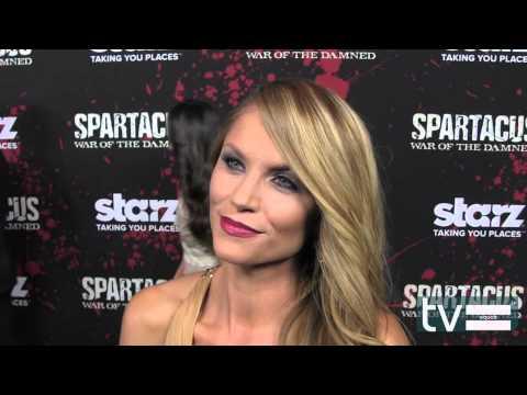 """Ellen Hollman (""""Saxa"""") on Spartacus Season 3 (Starz)"""