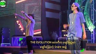 Snare (Ba Gyi Phyo & U Nay Win) @ The Evolution Music Show In Yangon