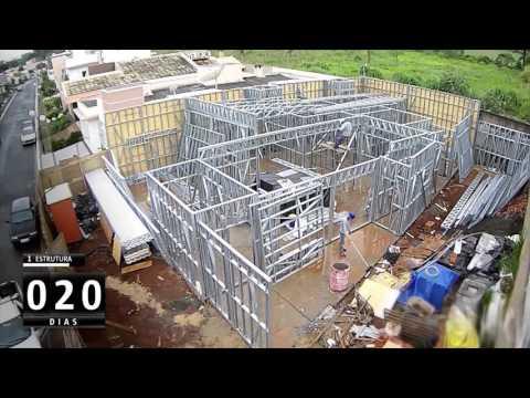 120 dias em 2 minutos - Steelframe + Drywall