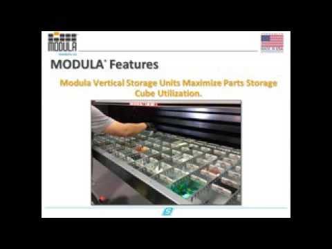 Modula`s Live Webinar on Automotive parts storage solutions