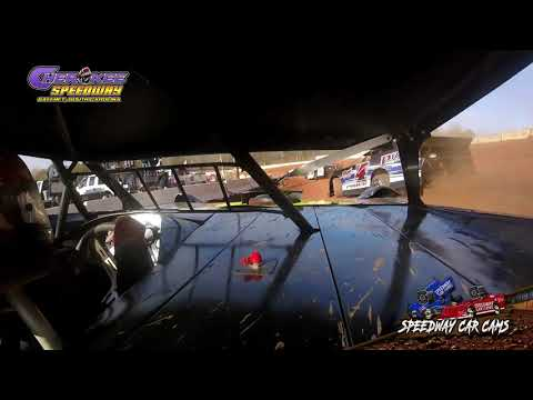 #P2 Mart Patterson - 602 - Heat & Feature - 1-26-20 Cherokee Speedway - In-Car Camera