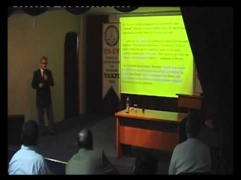 Hz. Peygamber Döneminde Kardeşlik Hukuku (Konuşmacı: Prof. Dr. Ali Çelik)