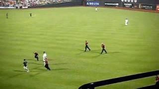 Crazy fan at Citi Field