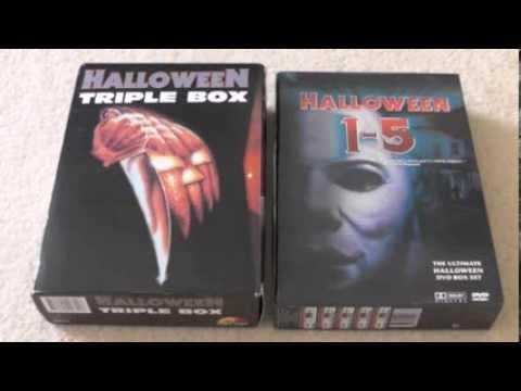 Halloween Dvd Box Set.Michael Myers Mondays Halloween Triple Box Halloween 1 5 Boxset