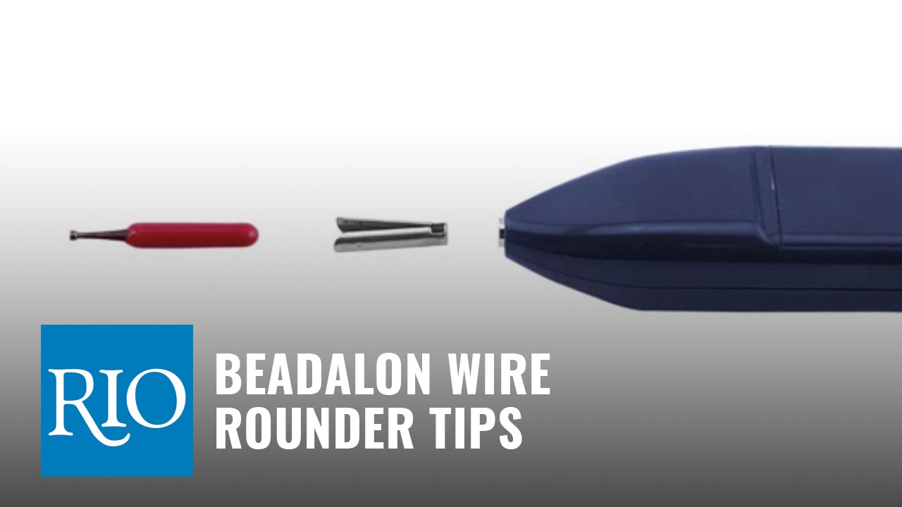 How to Use Beadalon® Wire Rounder Tips - YouTube