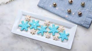 Snowflake Sugar Cookies You Won't Believe Are Vegan
