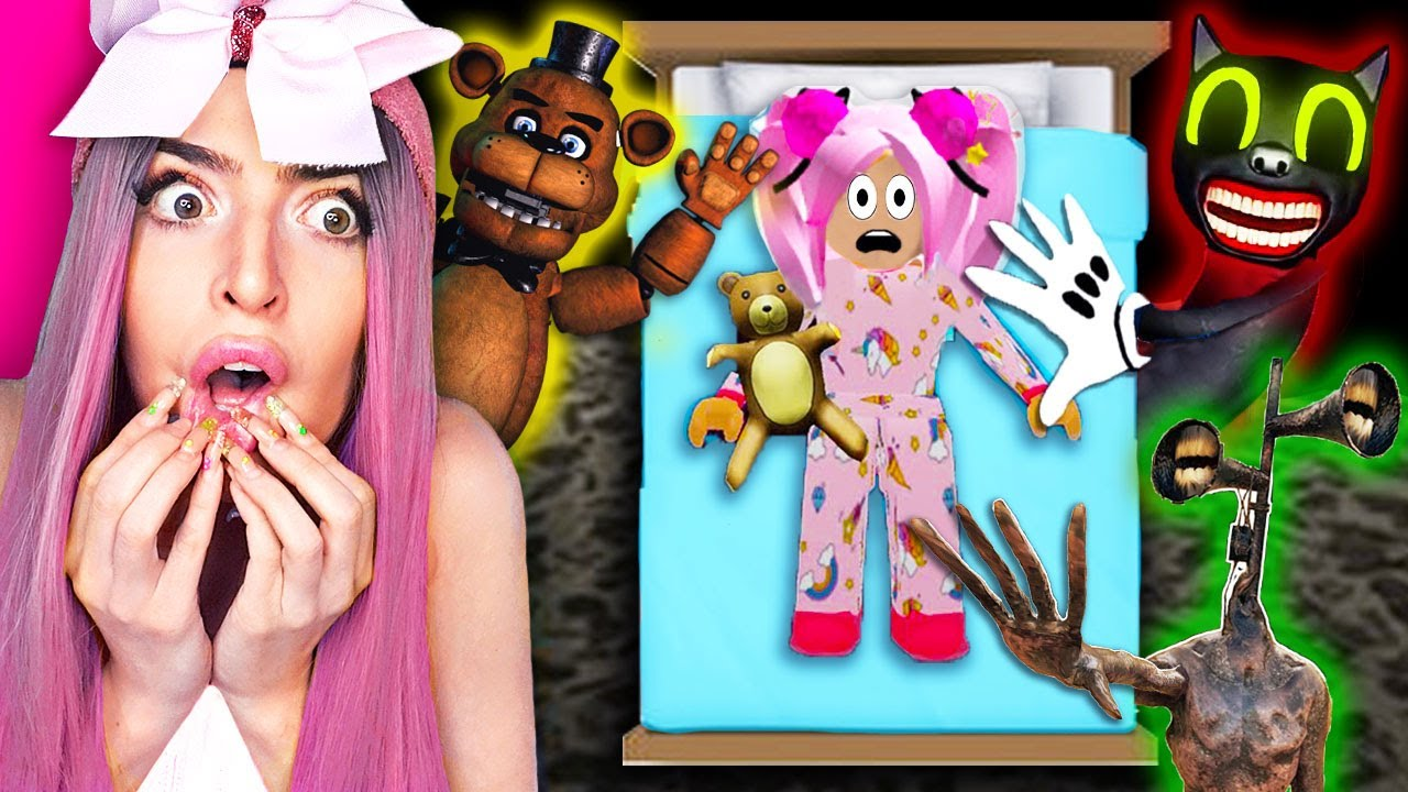 Can We Survive these ROBLOX NIGHTMARES at 3am?! (GONE WRONG)