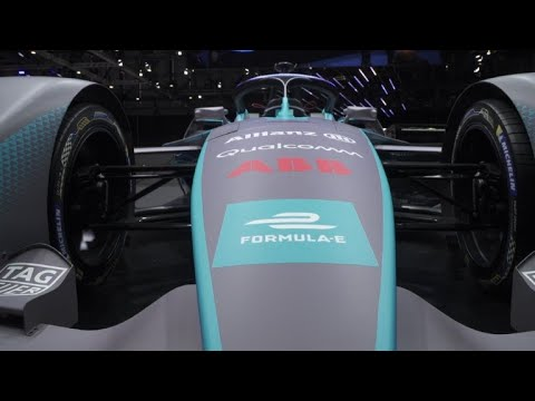 Formula E unveils new Gen2 electric race car