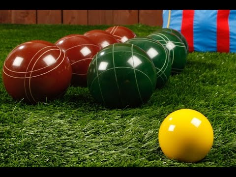 how to play bocce ball youtube