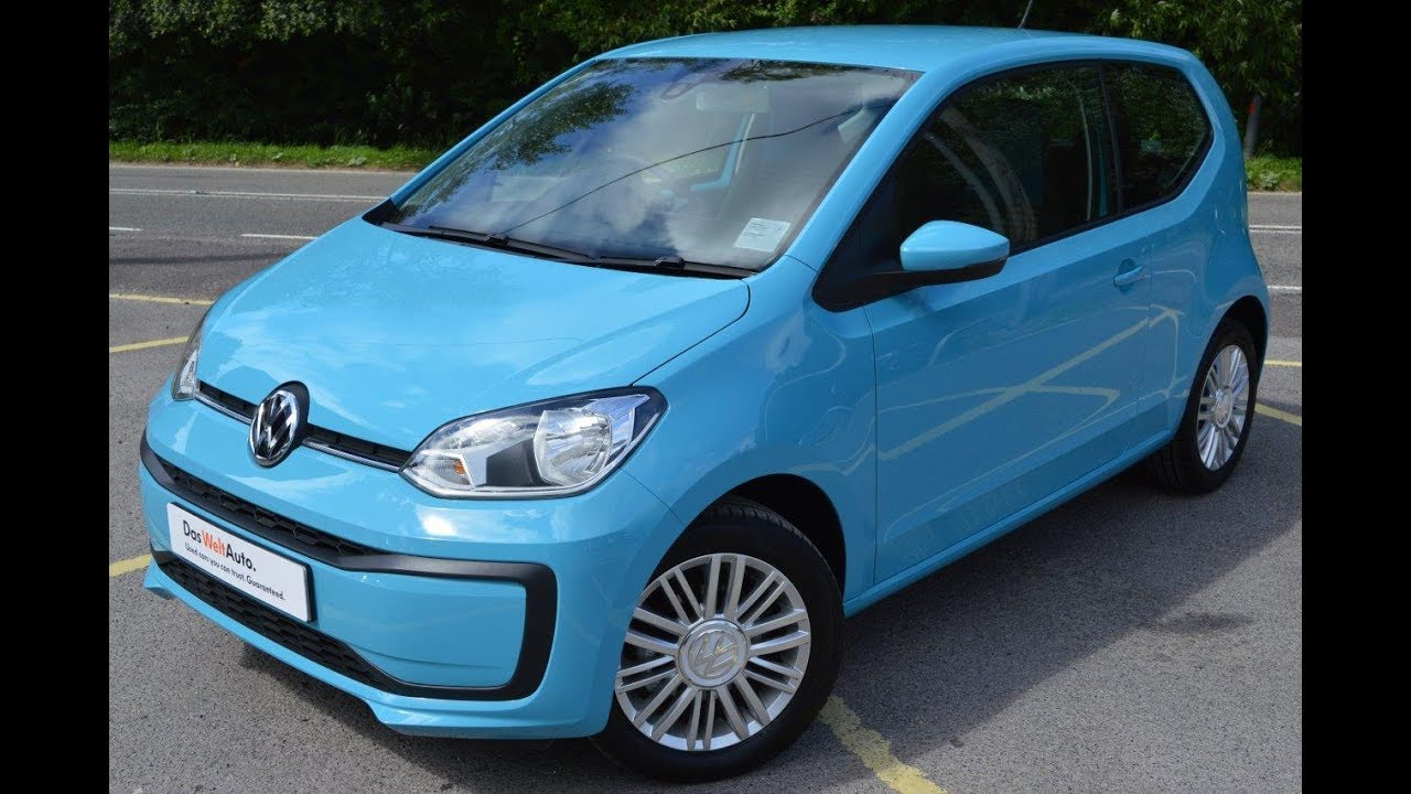 2016 new vw up move up 1 0 60ps 3dr teal blue youtube. Black Bedroom Furniture Sets. Home Design Ideas