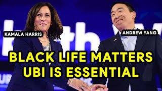 Andrew Yang & Kamala Harris Live | Both Agree On UBI & Black Life Matters | Premiere | Re-Broadcast