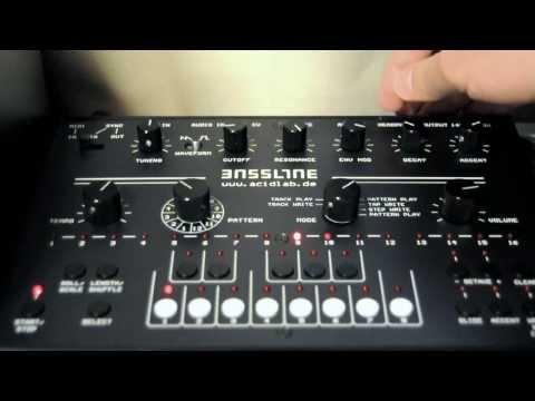 acidlab Bassline3 - Demo#01