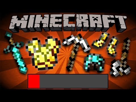 If ALL Tools Broke in ONE Hit – Minecraft