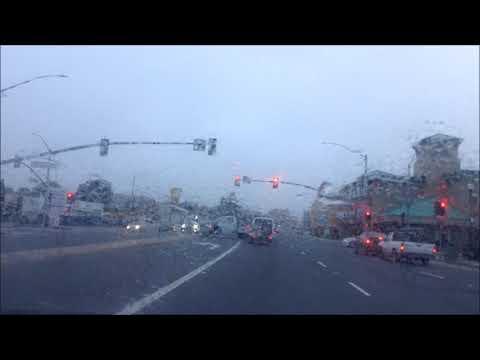 Drive Millbrae to San Bruno, California