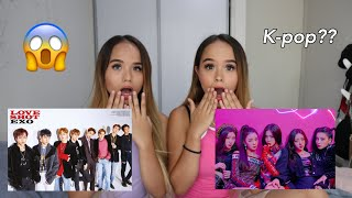 Non Kpop react to Kpop Part 6 (Exo,Itzy)