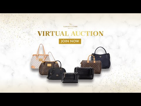 BANANANINA VIRTUAL AUCTION 24 JULI 2020