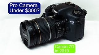 Canon 7D in 2019: Professional Camera under $300?