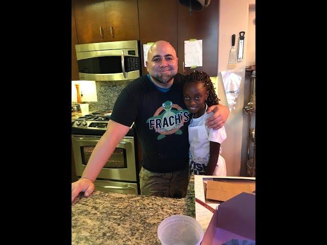 Kids Wish Network | Wish Kid Kiya bakes macarons with celebrity Chef Duff Goldman