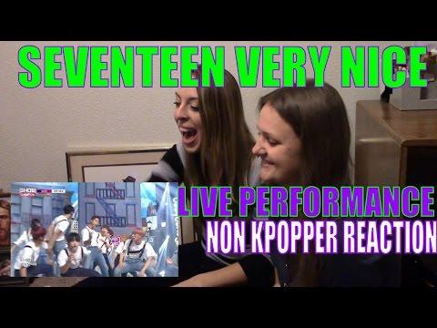Non Kpopper Marathon Part 2: SEVENTEEN Very Nice Live Reaction