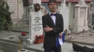 C.N. Andrei Saguna Brasov - Pelerinaj la mormantul lui Andrei Mureseanu