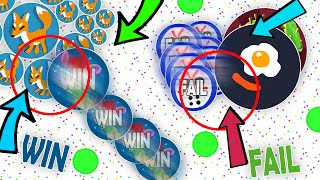 Agar.io EPIC WINS AND FAILS COMPILATION // NEW POPSPLIT KING?! BEST AGARIO WINS/FAILS