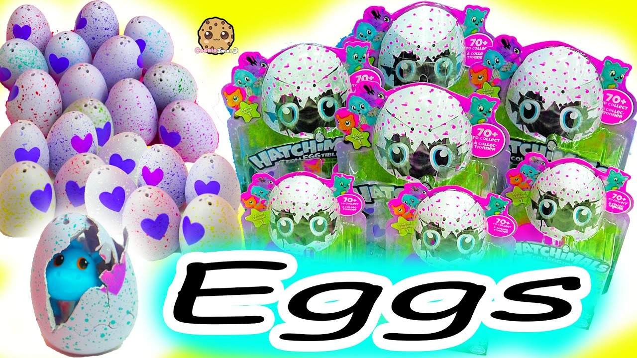 Hatchimals Eggs Coloring Pages