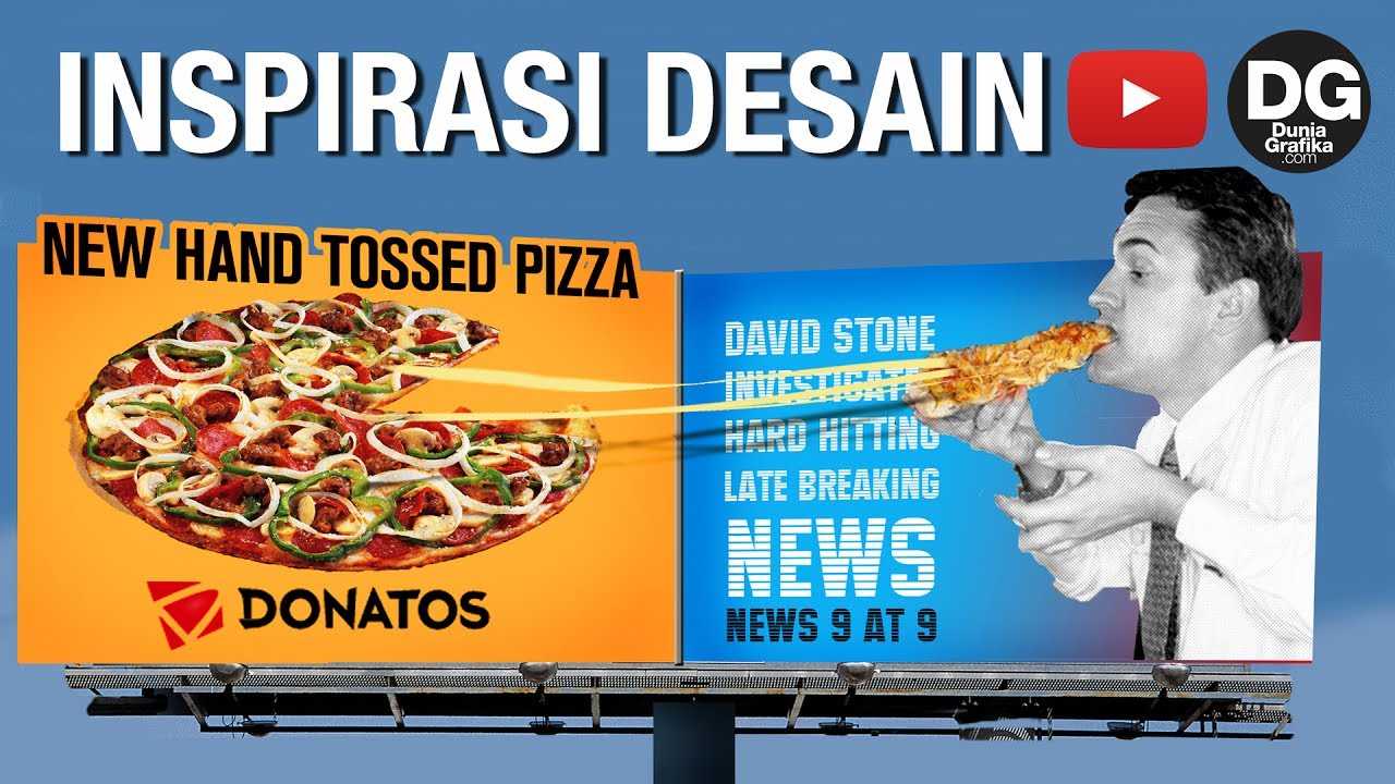 Inspirasi Desain Papan Reklame 3 Dimensi Kreatif, Keren ...