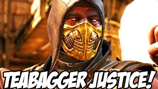 THE BEST TEABAGGER REVENGE MATCHES OF 2016! - Mortal Kombat X Teabagger Justice Funny Moments