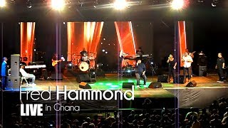 Fred Hammond Live In Ghana - They That Wait | Jaystiqs
