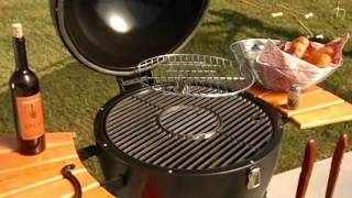 Char Griller Akorn Kamado Kooker Black - Product Review Video