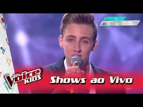 Luiz Henrique Schultz canta 'Tudo Que...' nos Shows ao Vivo – 'The Voice Kids Brasil' | 3ª Temporada