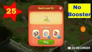 #Gardenscapes #level25 #nobooster #gamingfanatics