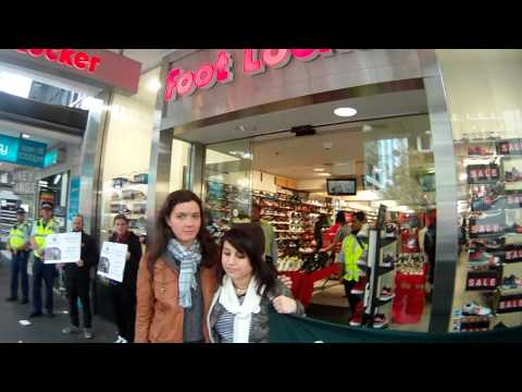 Protest! Foot Locker should join Bangladesh Fire and Safety Accord