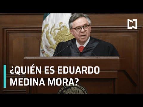 ¿Quién es Eduardo Medina Mora?   Renuncia Ministro Eduardo Medina Mora - Hora 21