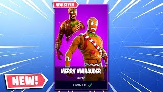 Fortnite Christmas Skins COMING BACK - NEW Merry Marauder OG Variant! (Christmas Skins Fortnite)