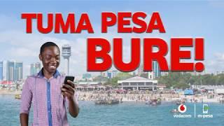 M-PESA - Tuma Pesa Bure (Dar Es Salaam, Tanga, Lindi, Zanzibar & Pwani)